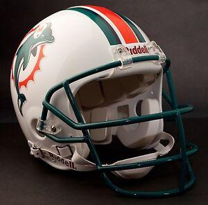 DAN MARINO Edition MIAMI DOLPHINS Riddell AUTHENTIC Football Helmet NFL
