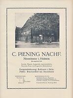 Getreide Piening Neumünster Bokhorst Brachenfeld 1923 (N)