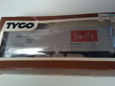 TYCO Model Train HO Scale Reefer SWIFT Refrigerator Cargo Car Collectible Hobby