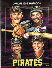 1986 Pittsburgh Pirates MLB Baseball YEARBOOK