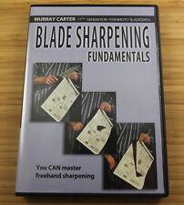 Blade Sharpening Fundamentals with Murray Carter (DVD)  / Knives / Bladesmithing