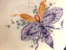 Meissen Teller / kleine Schale  14,5 cm cm Phantasie Orchidee bunt Heinz Werner