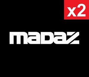 MADAZ MAZDA MPS 2 3 6 CX7 CX9 Vinyl JDM Ute Car 4x4 Decal Sticker Funny Speed