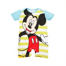 Recién Nacido Bebé De Niña Traje una pieza BODY CARTOON Minnie Mickey MONO