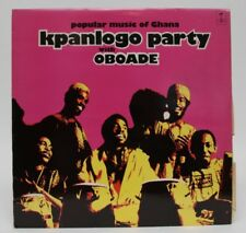 OBOADE - Kpanlogo Party / Popular Music of Ghana TANGENT RECORDS TGS-115