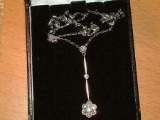 White Gold Pendant/Locket Vintage Fine Jewellery