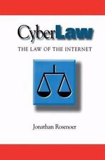 CyberLaw: The Law of the Internet, Jonathan Rosenoer, Good Book