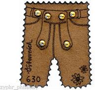 "Austria - ""ALPINE LEDERHOSEN"" Unique Leather & Swarovski Stamp 2015 !"