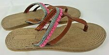 Slip On Womens Flip Flop Sandals Thong Slippers Beach Shoes Summer Comfort New