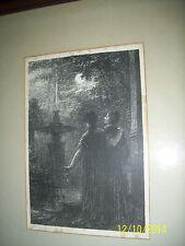 HENRI FANTIN-LATOUR  1890s Original Vintage Lithograph beatrice et benedict rare