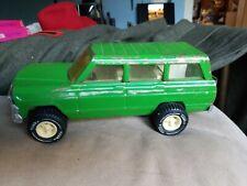 Vintage Bright Green Tonka Jeep Wagoneer #53078