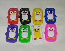 PENGUIN SILICONE SKIN CASE COVER FOR BLACKBERRY CURVE 9320 9220