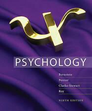 Psychology by Bernstein Edward Roy Alison Stewart Penner 9th Ed Free Shipping