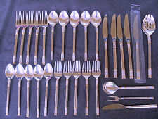 Wallace sterling silver flatware Aegean Weave set
