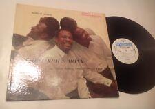 THELONIOUS MONK Brilliant Corners LP 1st RIVERSIDE 12-226 WHITE LABEL dg 1957