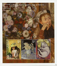 Nevis 2014 MNH World Famous Paintings Caillebotte Amille Pissarro 3v MS I Stamps