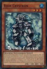 Yu-Gi-Oh ! Rion Crystron INOV-FRSE3 (INOV-ENSE3) VF/SUPER