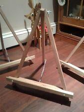 Hand made mahogany table top Easel Mini Artist / or display,