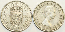 1953 to 1966 Elizabeth II Cupro-Nickel Scottish Shilling Choice of Date / Year