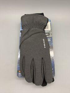 HEAD Women's Touchscreen Running Glove in Black, Size S