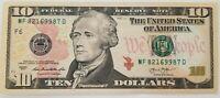 USA Billet de 10 Dollars - Excellent Etat, envoi gratuit !