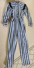 Vintage Funky 80s L Rothschild San Francisco  Jumpsuit One Piece Sz XS Petite