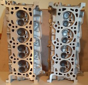 2 FORD LINCOLN 4.6 SOHC V8 CYLINDER HEADS RF-XL3E 97-03 REBUILT NO CORE CHARGE
