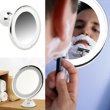 Lighted LED Makeup Mirror 7X Magnification Travel Bathroom Counter with Suction
