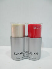 """ EMPORIO ARMANI FOR HER : NIGHT + LEI ""  PROFUMO DONNA EDT  2 X 30ml SPRAY"