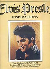 ELVIS PRESLEY inspirations UK 1980 EX LP
