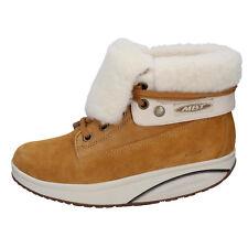 women's shoes MBT 8 / 8,5 (EU 39) ankle boots brown suede performance AB452-D