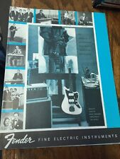 Fender Electric Instruments Catalog 1961 - Vintage Reprint