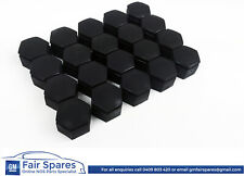 HSV Holden VE Commodore WM 22 mm Black Wheel Nut Caps Covers Set of 20 Caps NOS