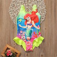 1| maillot de bain enfant-piscine-mer-Filles-Enfants-ensemble-la petite sirène
