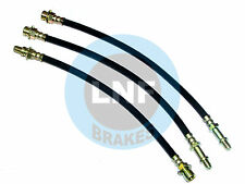 BUICK RIVIERA GRAN SPORT GS DRUM BRAKE HOSE FRONT REAR SET X3 67 68 1967 1968