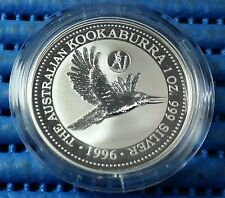 1996 Australia Kookaburra Silver Coin European Country Privy Mark Series Greece