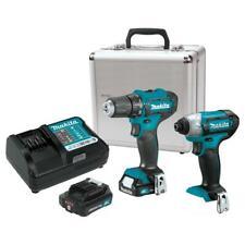 Makita Ct232rx 12 Volt 20ah 2 Tool Lithium Ion Drill And Driver Combo Kit