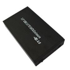 """3.5 """" USB 2.0 Externe Boîtier de disque dur SATA Coque Noir Neuf Universal"""