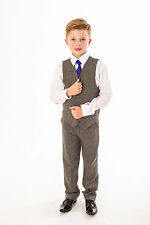 Boys Suits Boys Wedding Suit Tweed Waistcoat Suit Page Boy Baby Formal Party