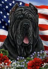 Patriotic (1) House Flag - Neapolitan Mastiff 16471