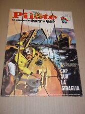 """REVUE """"PILOTE no 374"""" (1966) ASTERIX / PILOTORAMA - LES AEROTRAINS**"""