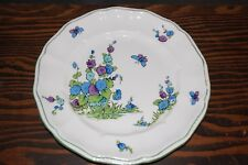 "Crown Staffordshire Gainsborough 8 1/4"" Plate English Bone China Butterflies"