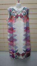 Kaleidoscope Dress Size 18 Multicoloured Print Detail  BNWT GO30