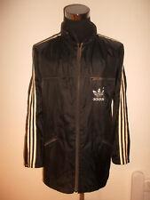 vintage 80`s ADIDAS Nylon Regenjacke rain jacket 80er Jahre oldschool D56 XL