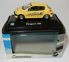 CARARAMA HONGWELL PEUGEOT 206 POSTES CENTRO DE CONTROL PTT 1/72 en box bis