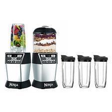 Ninja Nutri Ninja Nutri Bowl 1200W Duo Blender w/ Auto-IQ Boost & 3 Cups | NN101