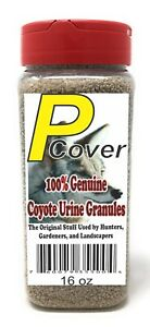 P-Cover Coyote Urine Granules. Pest Control for Deer Rabbit etc FREE SHIPPING!