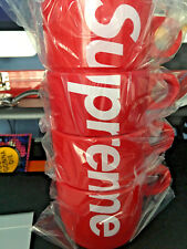 Supreme Red Stacking Cups (Set of 4) SS18