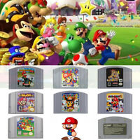 New Video Game Cartridge Console Card for Nintendo US N64 Version Gift USA HOT