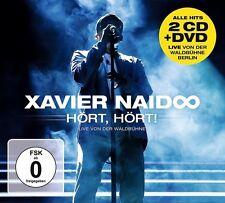 XAVIER NAIDOO - HÖRT,HÖRT! LIVE VON DER WALDBÜHNE 2 CD + DVD NEUF